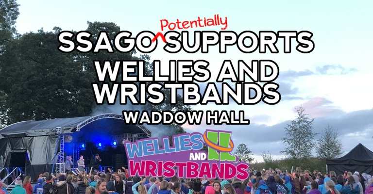 Wellies and Wristbands - Waddow Hall