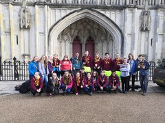Southampton SSAGO's Freshers Camp to Winchester 2019